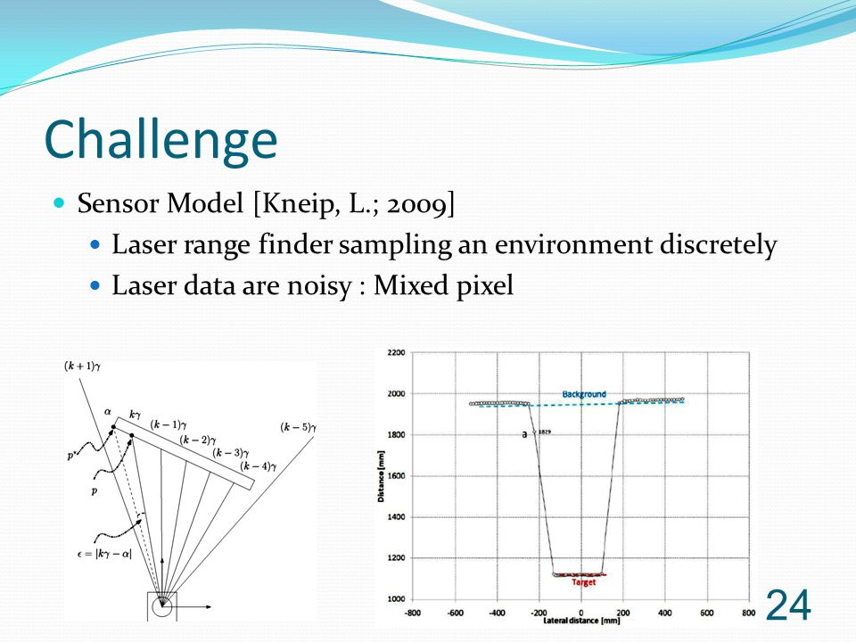 Challenge Sensor Model [Kneip, L.; 2009]